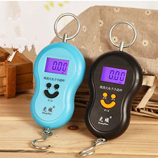 2a0448cd9a7b Amazon.com: Navpeak 40KG Portable Handheld Digital Luggage Scales ...