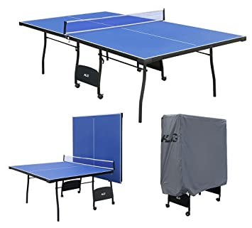 HLC 9FT Professional Full Size Folding Table Tennis Table Fitness Ping Pong  Table With Net +