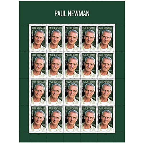 Amazon PAUL Newman USPS Forever Stamps Sheet Of 20 Postage Toys Games