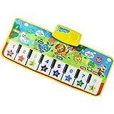 MagiDeal Tapis de Jeu Carpette Musical Piano Clavier Musique Touch Play Rampant Jouet éducatif Bébé Enfant - # 4