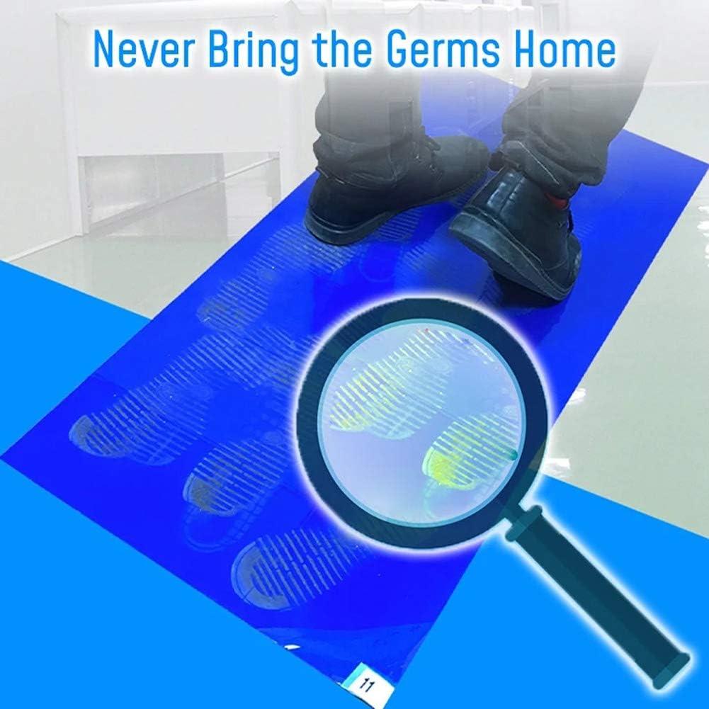 Christm Alfombrilla antipolvo para descontaminaci/ón higi/énica desechable para el hogar Small