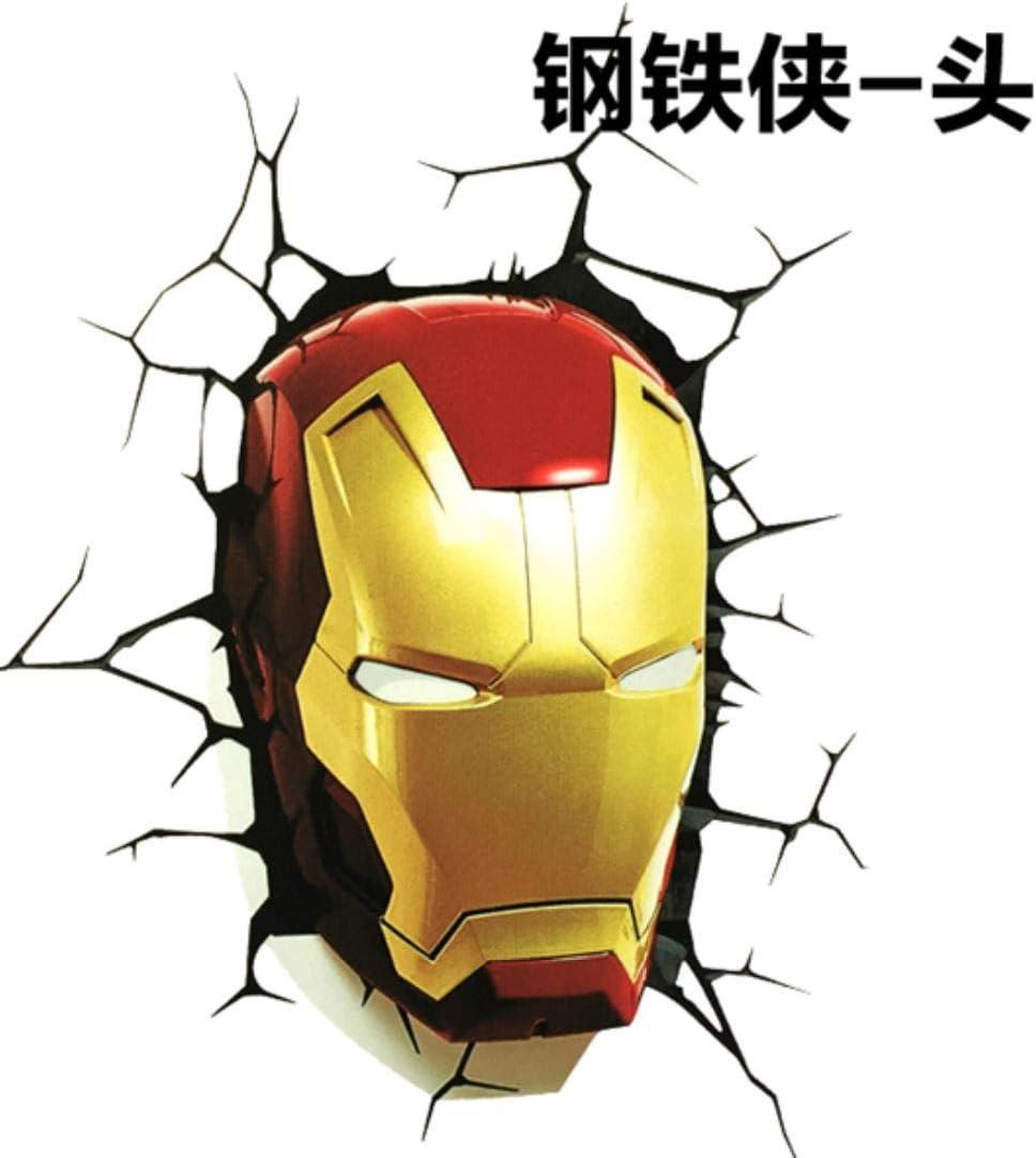 Iron Man FACE Vinyl Sticker Decal