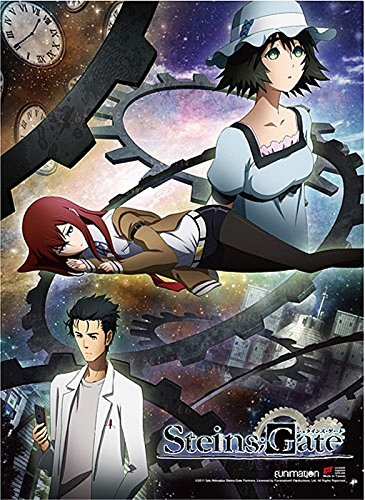 Steins; Gate Wall Scroll, Poster, One Size, Multicolor