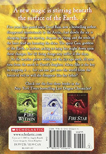 The Fire Eternal (The Last Dragon Chronicles #4)