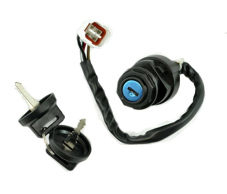Ignition Key Switch Fits YAMAHA KODIAK 400 YFM400 ATV 1993 1994 95 96 1997 1998