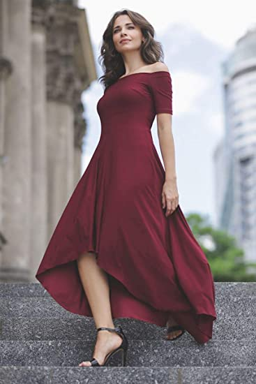 Lenitif donna vestito rosso