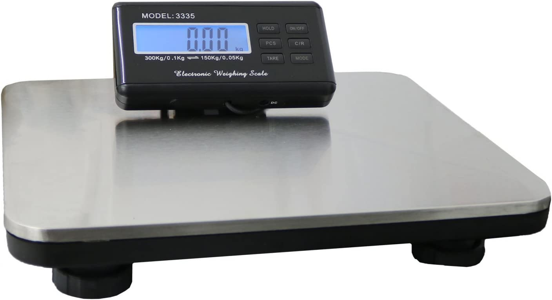 Oypla Heavy Duty Digital Postal Parcel Scales Weighing 150kg/300kg:  Amazon.co.uk: DIY & Tools