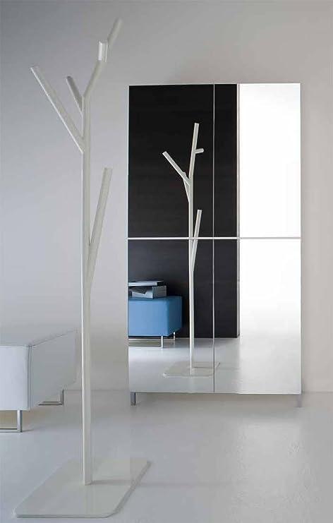 Birex, Linear, zapatero con puertas de espejo: Amazon.es: Hogar