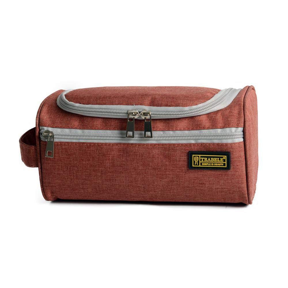 Bolsa de aseo para mujer, bolsa de viaje para colgar, organizador de maquillaje resistente al agua, bolsa de afeitado de gran capacidad con asa para hombres ...