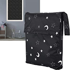 """LIFEI [Upgraded] Portable Blackout Shades, Travel Blackout Curtains, Temporary Blackout Blinds, Clever Window Blackout Solution for Baby, Travelers, Night-Shift Workers, Renters, 82.7"""" x 51.2"""""""