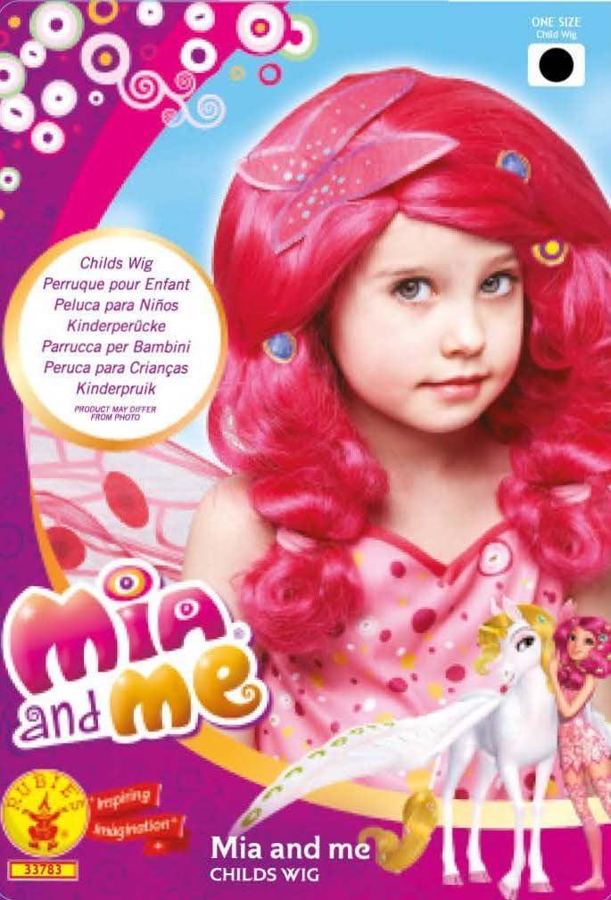 Rubie s Costume ufficiale del bambino Mia /& Me parrucca di