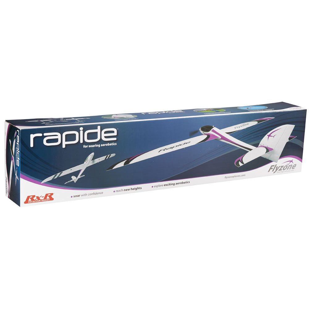 Flyzone Rapide Receiver-Ready Brushless Electric Foam RC Performance Glider with Motor, ESC, Micro Servos and Folding Propeller by Flyzone (Image #5)
