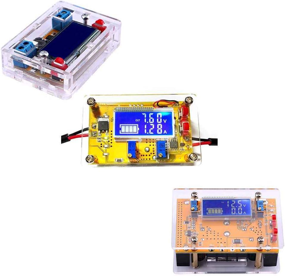 Bobury 3A 5A 10A Ecran LCD DC-DC abaisseur r/églable Module dalimentation R/égulateur Convertisseur Buck Tension Module