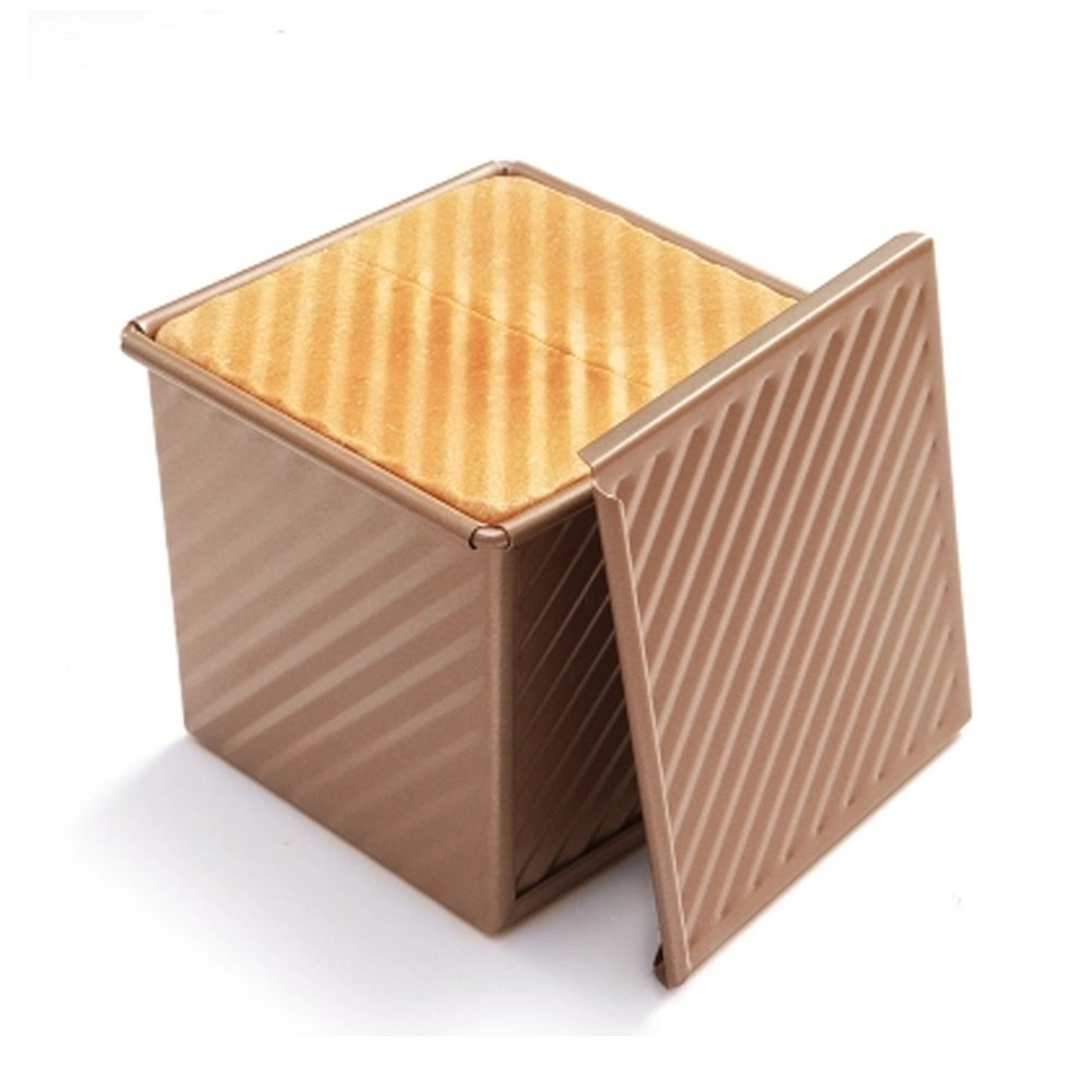 CAN_Deal Loaf Pan With Cover/Baking Mould Cake Toast Bread Mold/ Non-Stick Toast Box with Lid