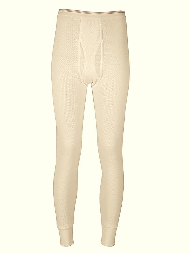 Indera hombres de frío extremo térmica ropa interior de manga larga para y larga John Pant Set, Natural XL, Natural: Amazon.es: Deportes y aire libre