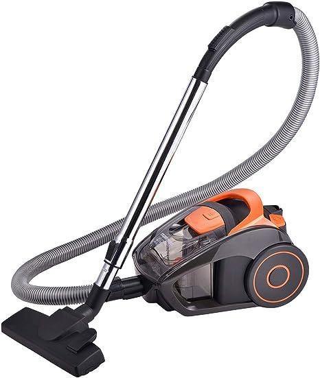 ForMe Aspirador sin Bolsa Sistema Ciclónico Compacto I 2 L Depósito I Multiciclónico 700W I Filtro de 5 Etapas I Cepillo parquet y boquilla 2 en 1 para ranuras, 79 dB: Amazon.es: Hogar