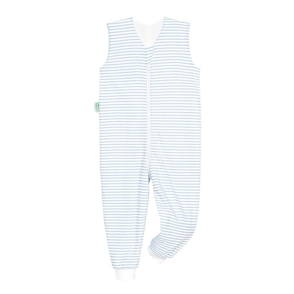 86//92 DE Odenw/älder Sommer-Schlafoverall Hopsi Stripes cool blue Gr