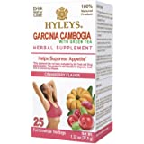 Hyleys Garcinia Cambogia Green Tea Cranberry - 25 Bags (100% Natural, Sugar Free, Gluten Free and Non GMO)