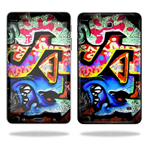 """UPC 682017797731, Mightyskins Protective Vinyl Skin Decal Cover for Samsung Galaxy Tab 4 7"""" Tablet T230 skins wrap sticker skins Loud Graffiti"""
