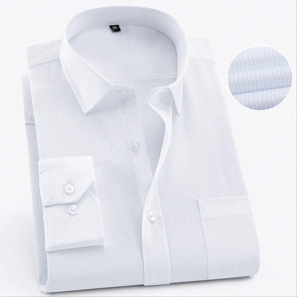 LYFST Camisa Aumentar Camisa de Hombre Camisa de Manga Larga ...