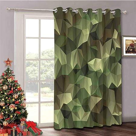 HouseLook Safari - Cortina de Puerta corredera para Patio, diseño de Tigre en la Selva, Color Verde: Amazon.es: Hogar