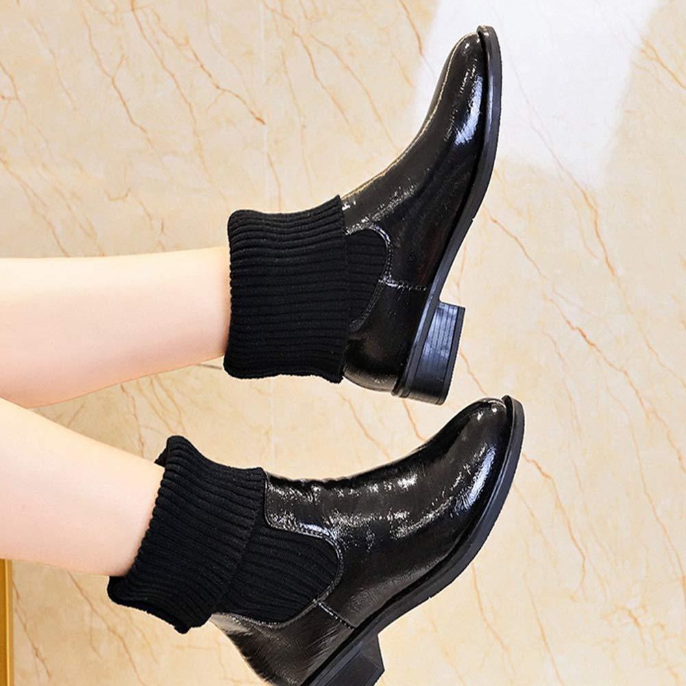 Damen Stiefel Schnee Winter Warm Kurze Röhre Flache Rutschfeste Stiefel Stiefel Stiefel 9a4dce