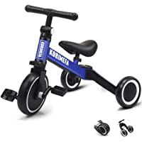 3 in 1 Kids Trike for Children 1-3 Years Old Kids Tricycle Boys Girls Baby Balance Bike 2 Wheels for Toddlers Tricycle…