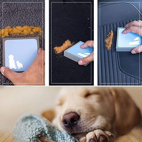 Hefine - Esponja para Eliminar el Pelo de Mascotas, 2 Unidades de ...