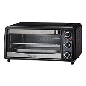 West Bend 74107 Convection Toaster Oven, Black
