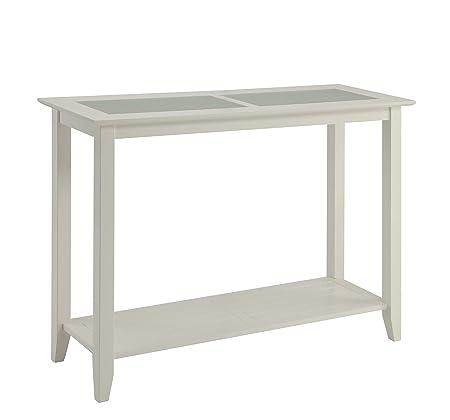 Convenience Concepts Carmel Console Table, White