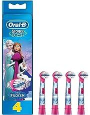 Oral-B Brossettes Avec Personnages La Reine des Neiges x4