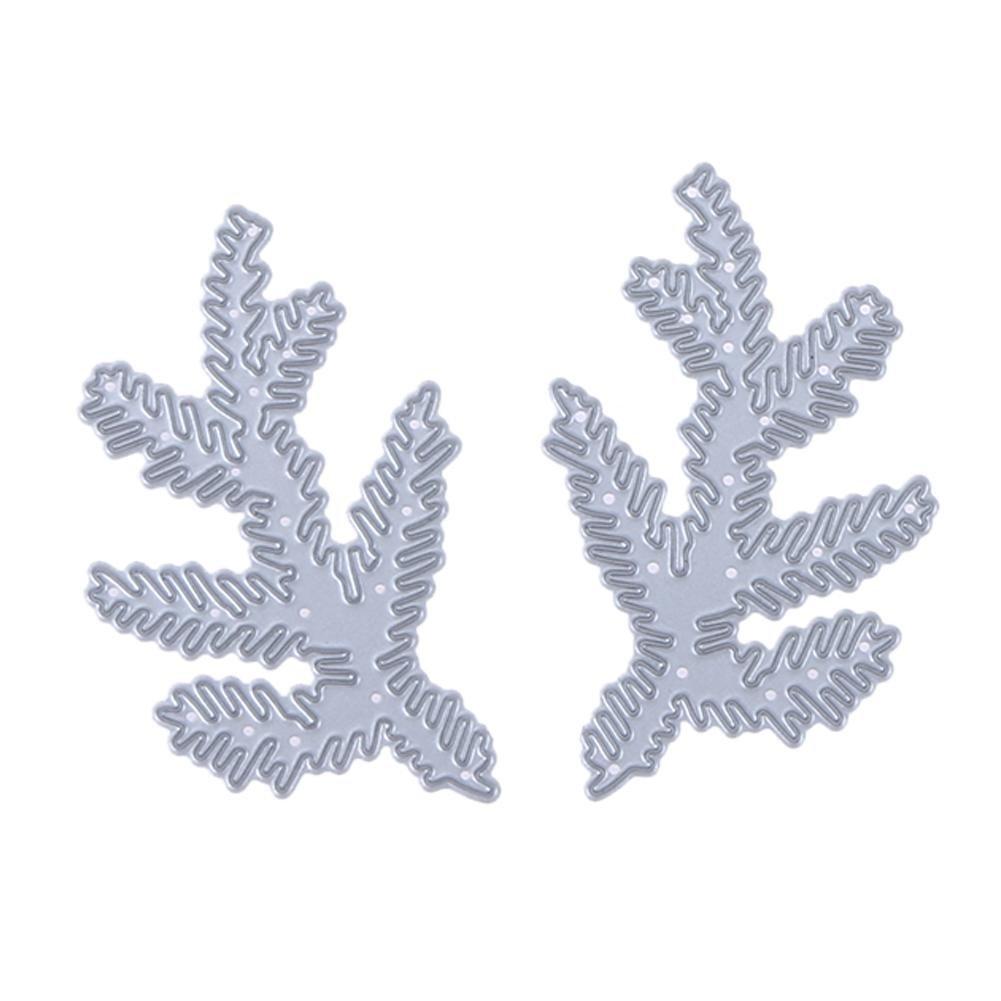 Ramo di Albero di Natale Fai da Te Taglio del Metallo Die Die Stencil per Craft Scrapbooking Starnearby Goffratura Taglio Muore Stencil Modelli