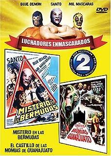 Luchadores Enmascarados: Misterio En Las Bermudas / El Castillo De Las Momias De Guanajuato