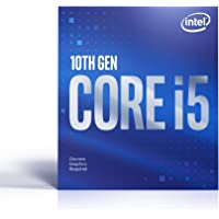Intel Core i5-10400F Desktop Processor 6 Cores up to 4.3 GHz Without Processor Graphics LGA1200 (Intel 400 Series…