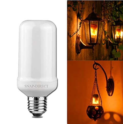 Led Flickering Flame Bulb, Creative Lights With Flickering
