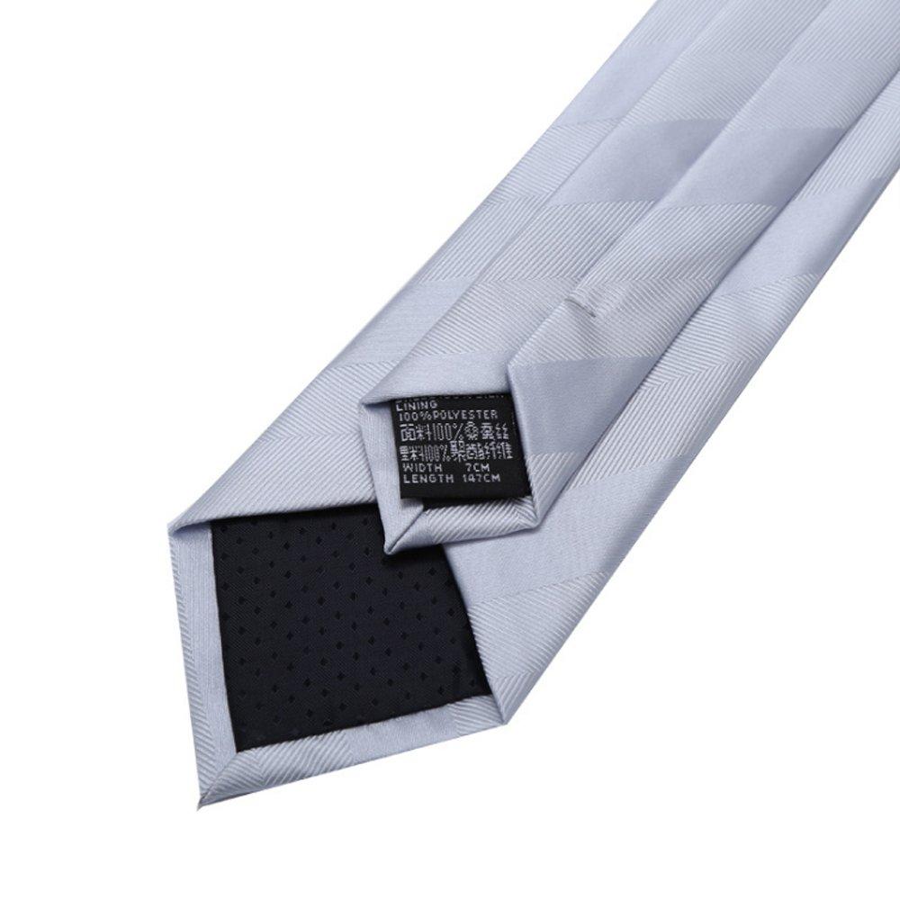 Y-WEIFENG Corbata de Tira de Corbata de Corbata de los Hombres de ...