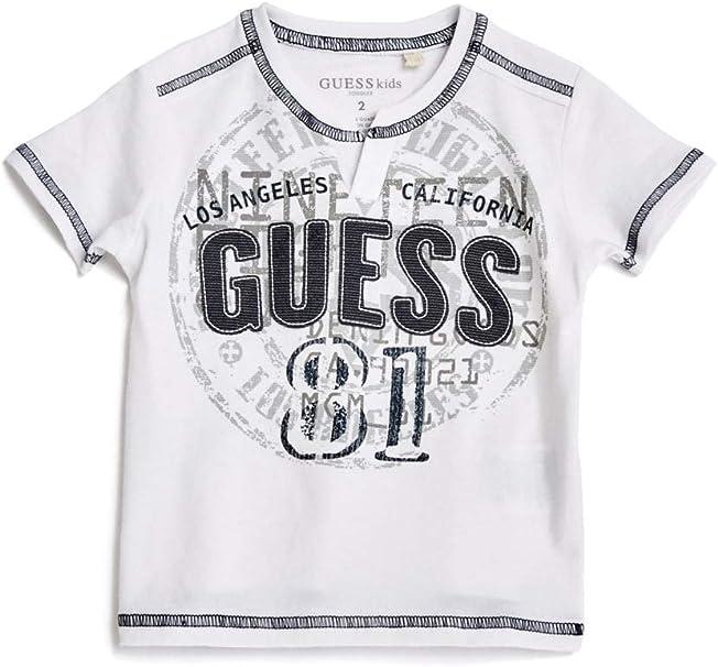 GUESS Factory Kids Boys Barrington Triangle Logo Tee 7-18