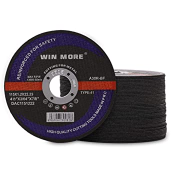 Non-Woven Finishing Disc 3 in Disc Dia Aluminum Oxide 18000 RPM 42 Units