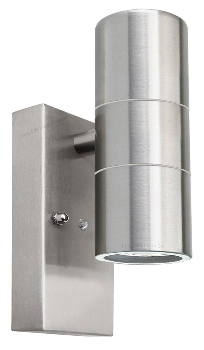 Outdoor up Down Wall Light Dusk Till Dawn Sensor Stainless Steel ...