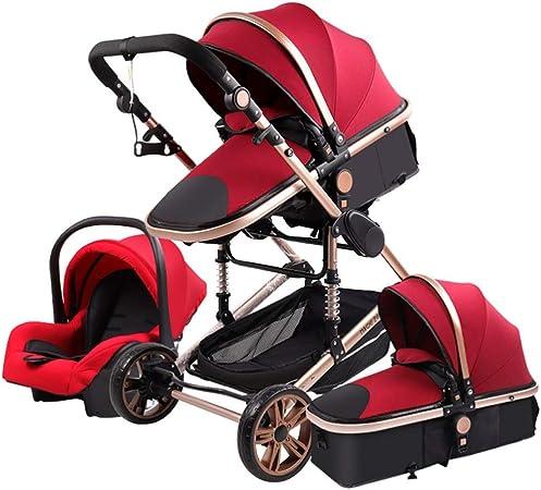 Opinión sobre Cochecito De Bebé Recién Nacido 3 En 1 Cochecito De Bebé De Alta Paisaje Cochecito De Bebé del Cochecito De Niño Cochecitos Cochecito For El Bebé 0-36 Meses (Color : C)
