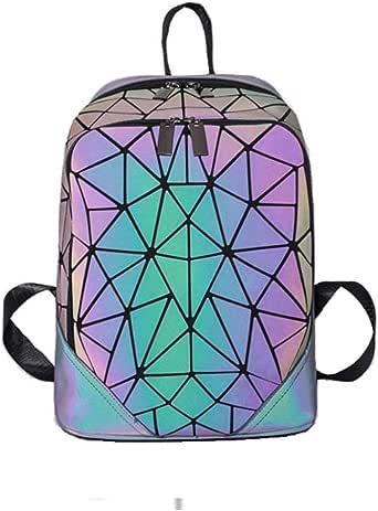 Amazon.com: Geometric Backpack Fashion Backpacks Luminous
