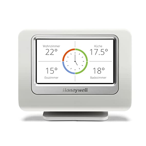 Homexpert By Honeywell THR993RT Honeywell evohome sistema para el control de la temperatura - Kit 3 zonas Blanco: Amazon.es: Hogar