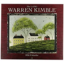 Perfect Timing Lang 2016 Wall Calendar by Warren Kimble, January 2016 to December 2016, 13.375x24-Inch (1001884)