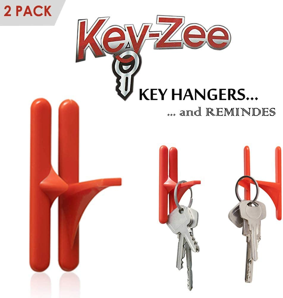 Adhesive Hooks Key Organizer Rack Zee Shaped Perfect Key Hanger With Strong Suction Hooks And Reminder Key Loss Home Kitchen