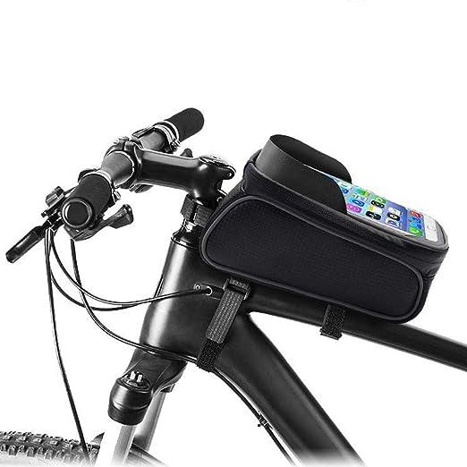 MYFSPORTS Impermeable Bicicleta Soporte De Teléfono Bolso ...