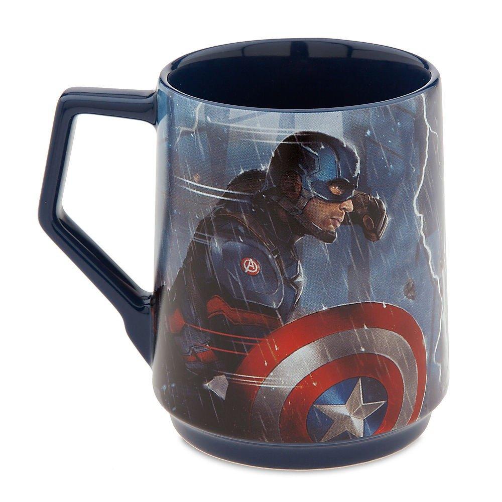 Disney Parks Authentic Captain America Civil War Captain America vs. Iron Man Mug