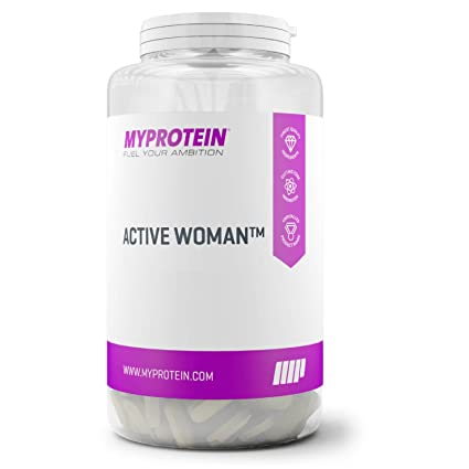 MyProtein Active Woman Multivitaminas - 120 Tabletas
