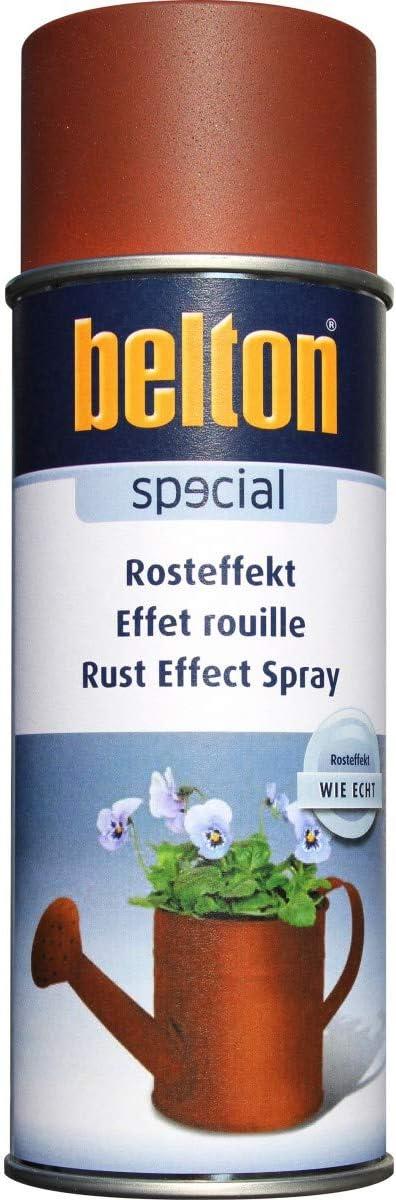 BELTON - Peinture aérosol effet rouille 400ml - Effet rouille