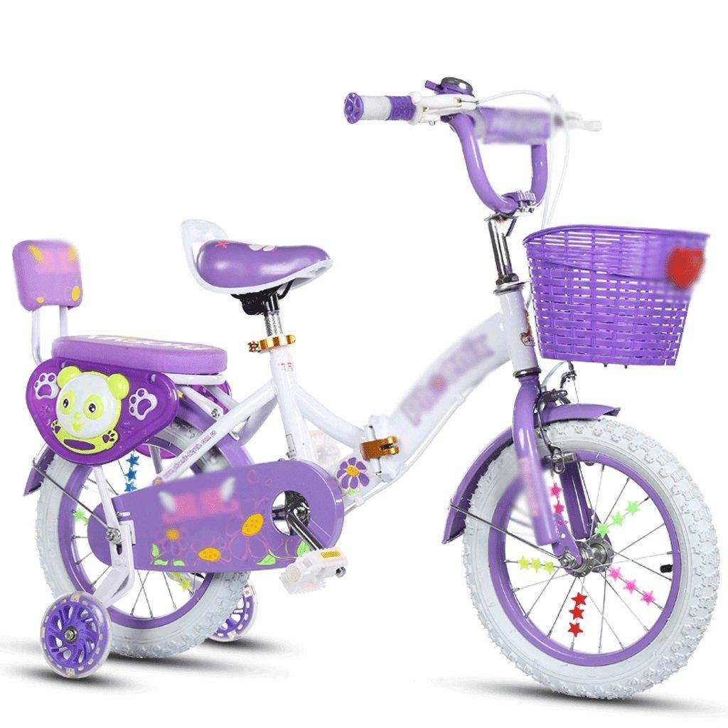自転車 子供の自転車を折りたたむ2-4-6-7-8-9-10年の赤ん坊の女の子 (サイズ さいず : 12 inch) B07F13LR5312 inch