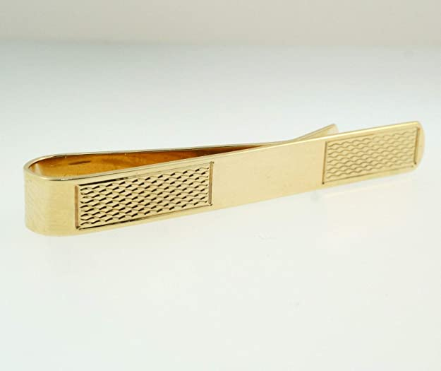Alfiler de corbata de oro amarillo de 9 quilates (4 x 46 mm ...